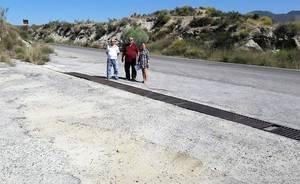 El PP de Purchena pide al Ayuntamiento un Plan urgente de actuación en la carretera de Cuesta Blanca