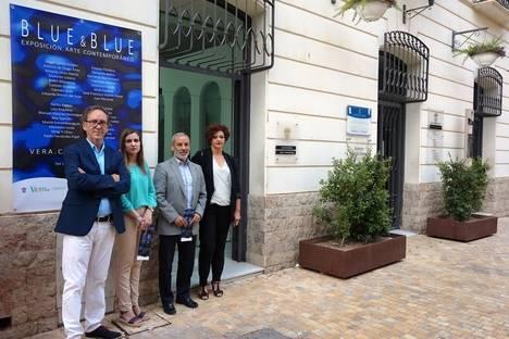 Inaugurada en Vera la exposición de Arte Contemporáneo. Blue&Blue