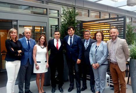 Pamela Durante es la embajadora del mármol de Macael en el mundo