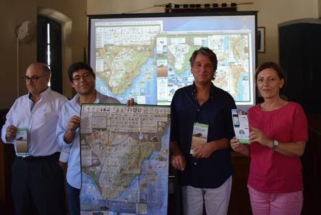 El nuevo Mapa de Níjar está ya disponible en las Oficinas Municipales de Información Turística