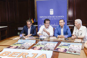 Berja presenta en Diputación la programación de Feria y de los Festivales de Verano 2017