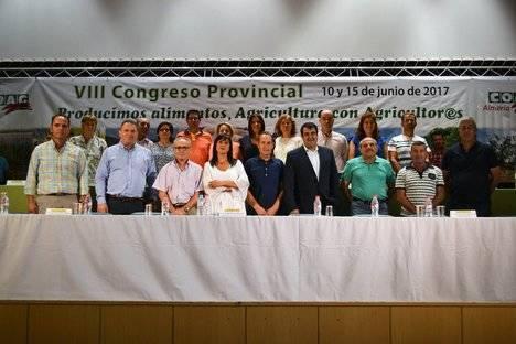 COAG reelige a Andrés Góngora como secretario provincial