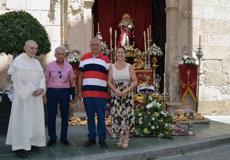 La Hermandad del Silencio gana el concurso Exorno de Altares del Corpus Christi