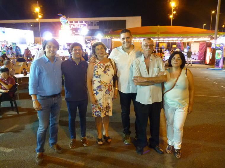 """Rafaela Abad pregona las fiestas de San Luis, """"un barrio que ha ido formándose a sí mismo"""""""