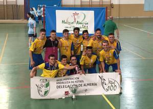 El CD Desierto de Tabernas, Campeón de la Copa Federación de Fútbol Sala