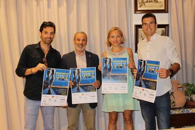 Vera presenta su V Media Maratón con el apoyo del medallista olímpico Paquillo Fernández