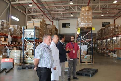 Revolución logística en el Hospital de Poniente de Almería