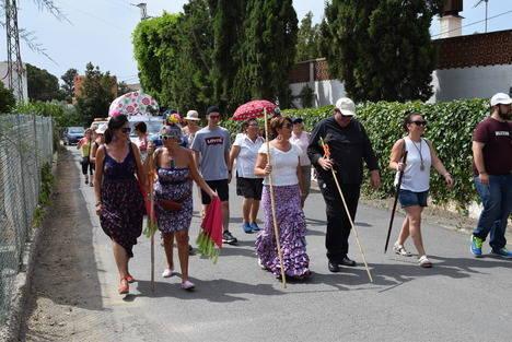 Gádor y Santa Fe celebran conjuntamente la romería a Mondújar en honor a San Antonio