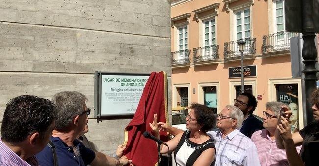 La Junta no menciona a Langle en la placa de los Refugios como 'Lugar de la Memoria'