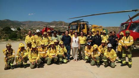 En lo que va de año han ardido casi siete hectáreas en Almería