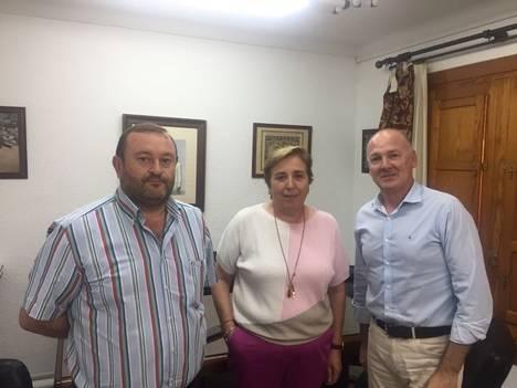 Junta y Ayuntamiento de Antas analizan la cesión de más de un kilómetro de travesía de la A-1202