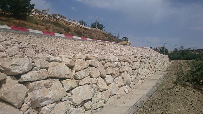 Acaban las obras de mejora del firme de Partaloa a Oria