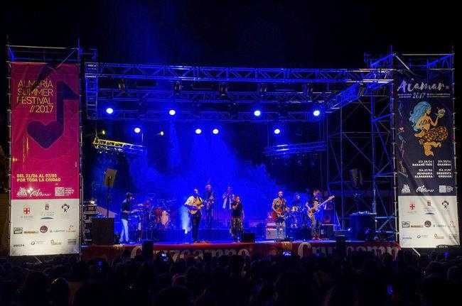 Lleno espectacular con Chambao en Alamar 2017