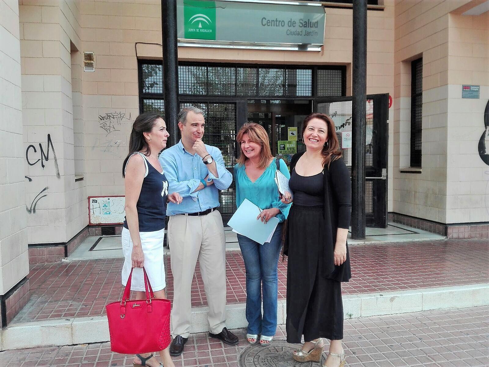 El pp avanza el fracaso del plan verano del sas for Centro de salud ciudad jardin