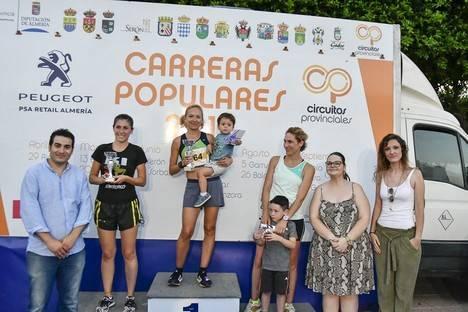 Las calles de Turre reciben a los cerca de 200 participantes del 'Circuito de Carreras Populares'