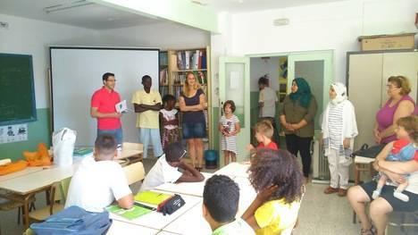 Comienza el aula de verano de Codenaf con en La Mojonera