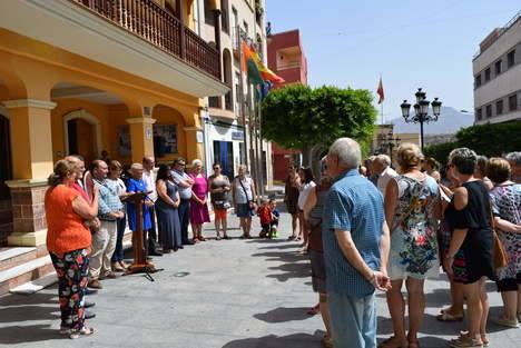 Gádor recuerda a Miguel Ángel Blanco en el 20 Aniversario de su muerte