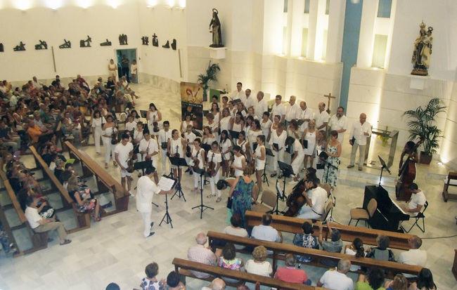 Joven Orquesta y Coro de la Escuela Municipal de Música hace un repertorio entre el Barroco y el Renacimiento vocal
