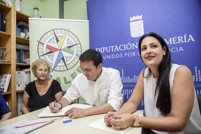 Diputación colabora con los programas de integración y contra el desarraigo de ASALER