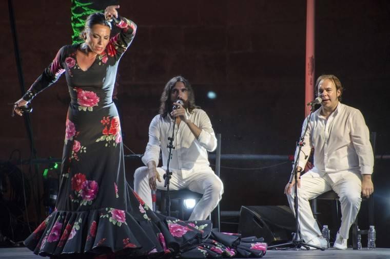 El carisma de Antonio Canales abrió anoche el 51º Festival de Flamenco y Danza de Almería