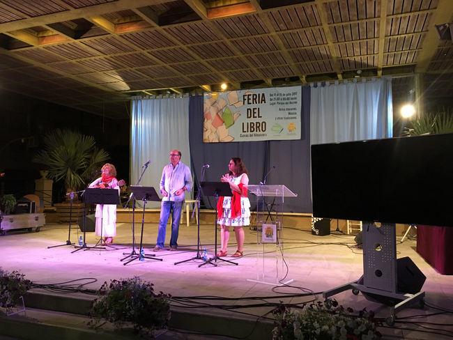 Javier Irigaray y Mar Verdejo recitan en Cuevas del Almanzora