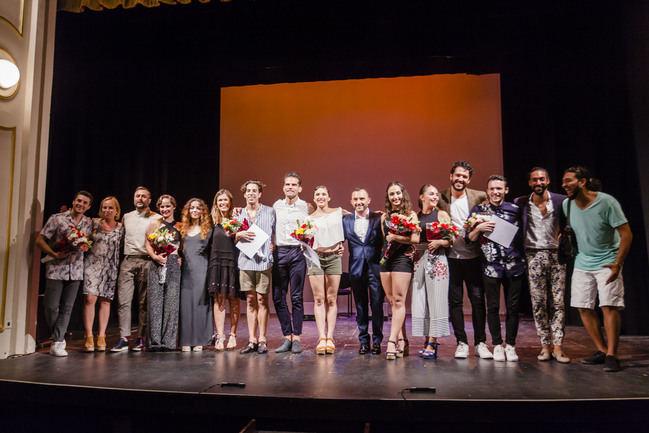 Cristina Cazorla, Laura Funez y Juan Carlos Avecilla ganan el Concurso Internacional de Baile