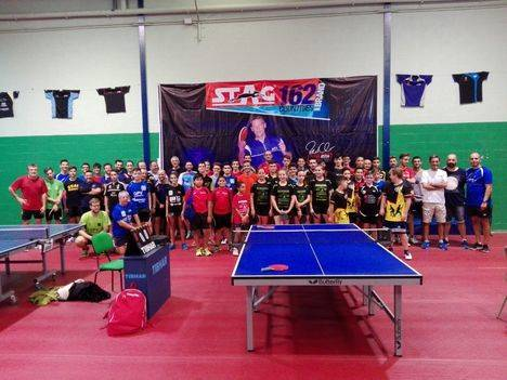 Huércal de Almería disfruta del mejor tenis de mesa gracias a su torneo de selecciones provinciales