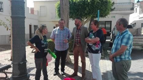 La Junta apoya con 80.000 euros la contratación de 11 personas desempleadas en Antas
