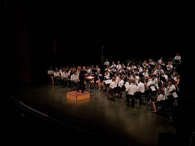 Bandas de cuatro provincias comparten su pasión por la música en el Maestro Padilla