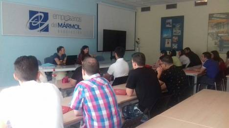 Diputación clausura un curso de Guía de Turismo Industrial en Macael