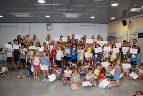 Gádor clausura la Escuela de Verano en la que han participando alrededor de 75 niños