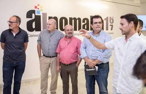 Alnomalía de Diputación llena de arte las calles de Padules, Almócita y Bacares