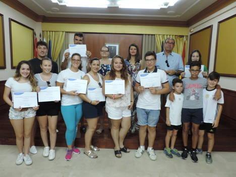 Diputación clausura un curso de 'Dinamizadores para el Ocio y Tiempo Libre' en Turre