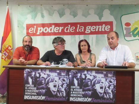 Izquierda Unida eleva a la Comisión de Seguimiento del Pacto antitransfuguismo los casos de Mojácar y Roquetas