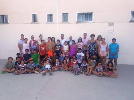 Visita institucional a la Escuela de Verano de Vera