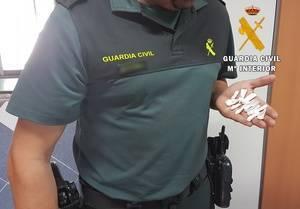 Detenido en Fiñana con 17 bolsitas de cocaína y 0,2 gramos de speed