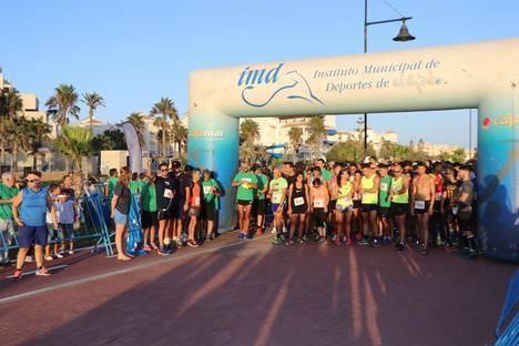 400 corredores se dan cita en El Ejido contra el cáncer