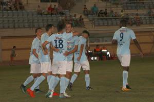 El CD El Ejido gana al Betis Deportivo en el último partido de pretemporada