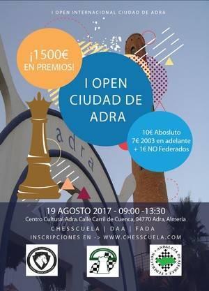 Adra organiza su I Open Internacional de Ajedrez