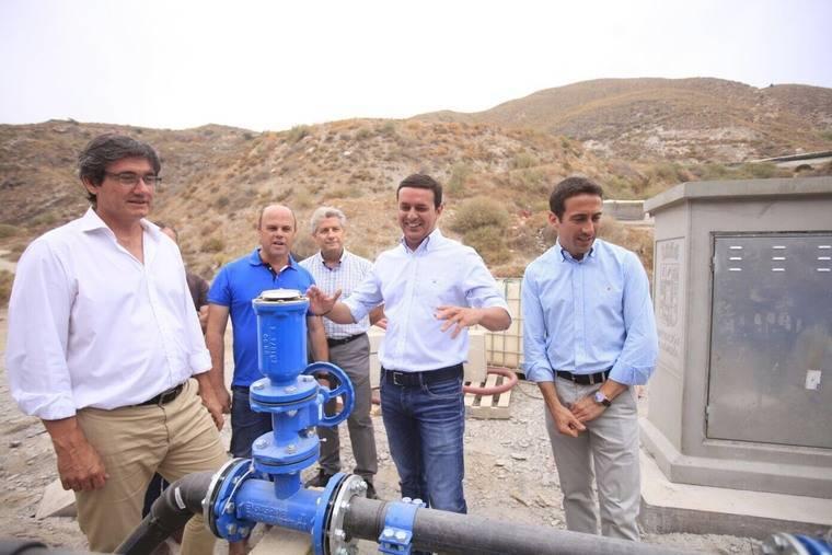 Diputación soluciona el problema histórico de agua del barrio de La Alquería