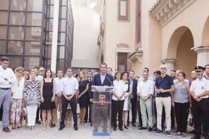 Almería muestra su repulsa por los atentados de Barcelona y Cambrils