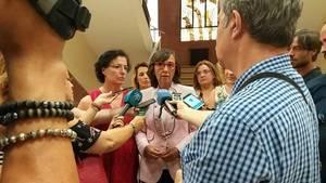 Rosa Aguilar reclama al Ministerio que dote a Vera de un nuevo juzgado de primera instancia e instrucción