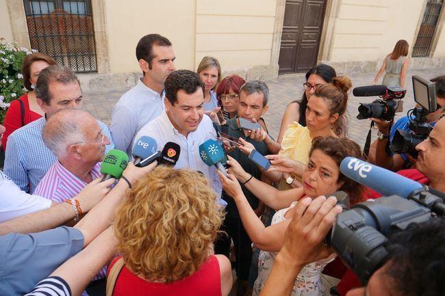 Moreno Bonilla critica que Susana Díaz esté 'ausente'