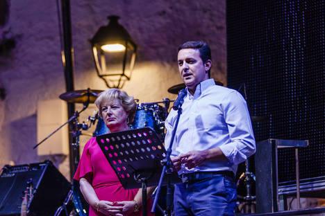 Javier A. García pregona las fiestas y destaca Laroya como ejemplo de turismo interior de la provincia