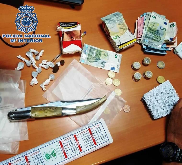 Sólo dos detenidos en la Feria por tráfico de drogas