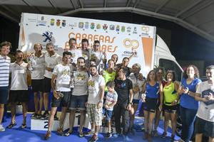 El Circuito de Carreras Populares reúne a 220 corredores en su cita de Balanegra