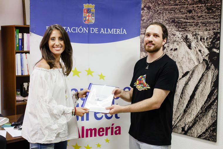 Juan José Plaza se marcha a Finlandia a través del Servicio de Voluntariado de Diputación