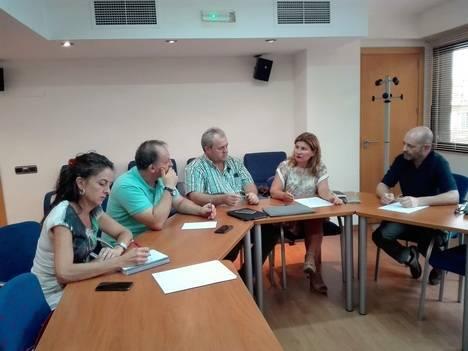 El PP se reúne con CSIF-Infoca para conocer de primera mano la situación del servicio de extinción de incendios