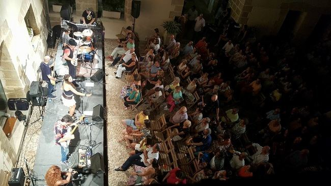 3.000 espectadores acudieron al XX Ciclo de Conciertos del Castillo de Guardias Viejas