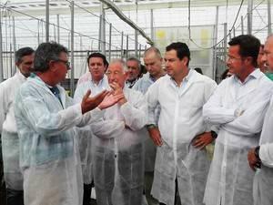 Juanma Moreno incide en la necesidad de alcanzar un gran Pacto por el Agua en Andalucía